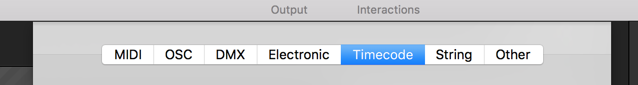 Synchronizing with a Timecode / Millumin :: Help